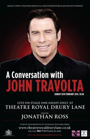 A CONVERSATION WITH JOHN TRAVOLTA Set for London's West End, 2/16
