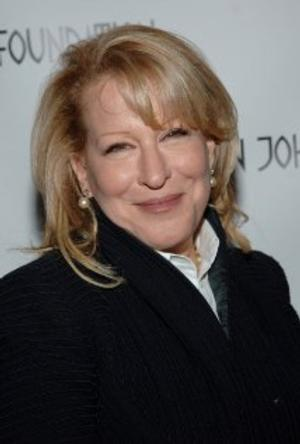 Bette Midler Searching for Partners in STAGES FOR SUCCESS INITIATIVE