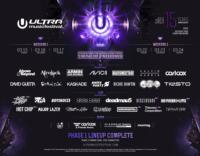 ULTRA MUSIC FESTIVAL Announces Complete Phase 1 Line-Up