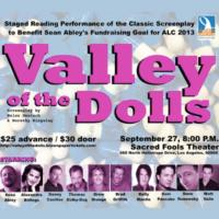 VALLEY OF THE DOLLS Reading to Benefit AIDS/Lifecycle Campaign, 9/27