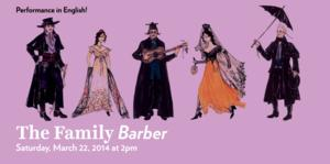 Lyric Opera of Chicago Presents THE FAMILY BARBER Today
