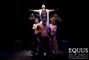 Houston's Frenetic Theater Presents Re-Imagined Production of EQUUS, 7/24 - 8/2