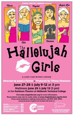 Tickets on Sale for Chapin Comedy THE HALLELUJAH GIRLS, 6/27-29 & 7/9-13