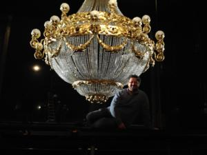 New PHANTOM to Dazzle Minneapolis with New Chandelier, Production