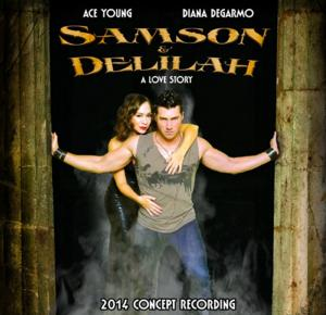 Ace Young & Diana DeGarmo Lead SAMSON AND DELILAH Concept Album; Release Concert Set for 1/29 at 54 Below