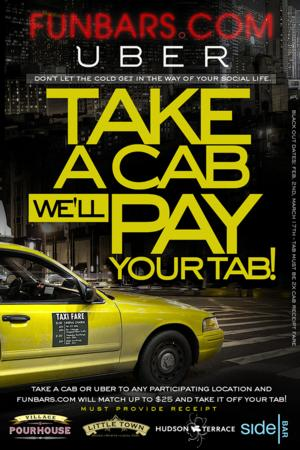 Take A Cab, Funbars Pays the Tab