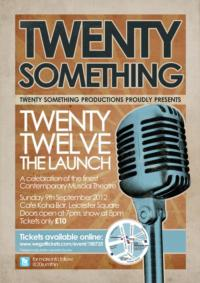 TwentySomething Productions to Present Debut Celebration TWENTY TWELVE: THE LAUNCH, 9/9