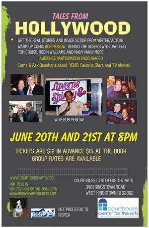 Tales From Hollywood with Bob Perlow at the Courthouse Center for the Arts, 6/20-21