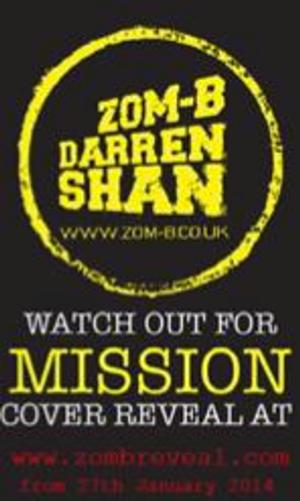 Simon and Schuster Children's Books Launches the First Fan-Driven Cover Reveal for ZOM-B MISSION
