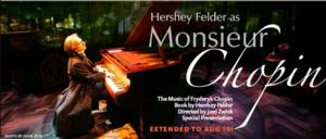 Berkeley Rep Extends Hershey Felder's MONSIEUR CHOPIN Through 8/10