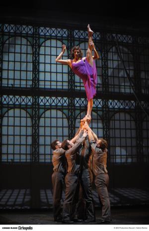 Cirque Eloize's CIRKOPOLIS to Close 1/5 at NYU Skirball Center