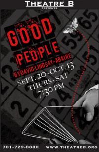 Theatre B Presents GOOD PEOPLE, 9/20