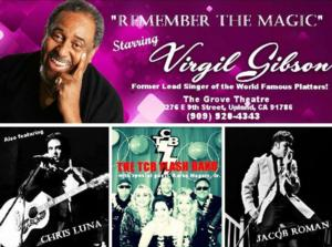 Virgil Gibson to Play Grove Theatre, 2/8