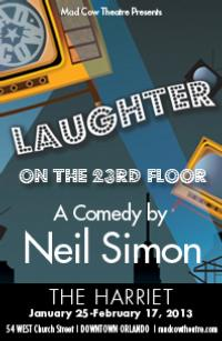 Mad Cow Theatre Extends LAUGHTER ON THE 23RD FLOOR Through 2/24
