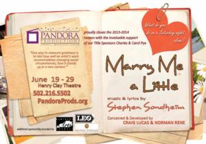 The Henry Clay Theatre Presents MARRY ME A LITTLE, 6/19-29