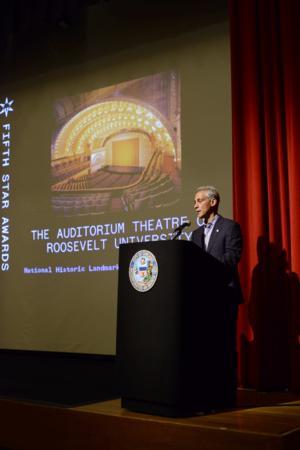 The Auditorium Theatre Selected as Fifth Star Honoree
