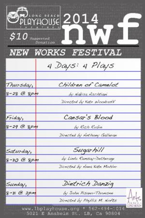 Long Beach Playhouse to Host 2014 New Works Festival, 8/28-31