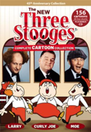 New THREE STOOGES Complete Cartoon Collection on DVD 10/15