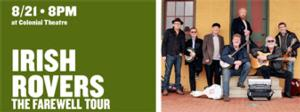 Irish Rovers to Bring Farewell Tour to The Colonial Theatre, 8/21