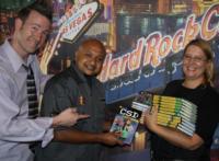 CSI: The Experience Donates CLUB CSI Books to Hard Rock Cafe on the Strip