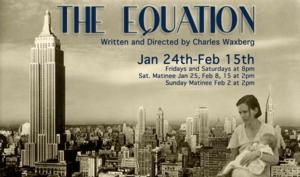Theatre9/12 to Open THE EQUATION, Jan 24