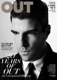 Zachary Quinto Featured on Cover of OUT