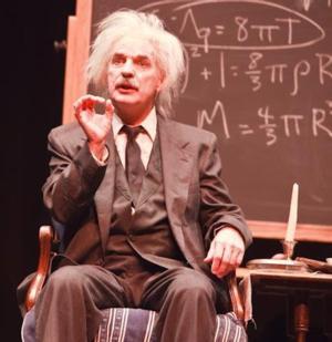 Aux Dog Theatre Celebrates Einstein's Birthday with Tom Schuch's EINSTEIN: A STAGE PORTRAIT, 3/14-16