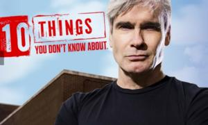 Henry Rollins Returns for New Season of H2's 10 THINGS YOU DON'T KNOW ABOUT Tonight