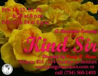 Barefoot Productions Stages KIND SIR, Now thru 2/24
