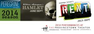 Peregrine Theatre Ensemble Announces Casting for RENT and HAMLET, Summer 2014
