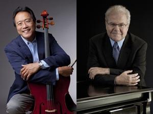Yo-Yo Ma and Emanuel Ax Add Third Brahms Cello Sonata to 2/23 Program at Carnegie Hall