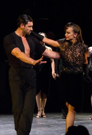 Karina Smirnoff and Maksim Chmerkovskiy End Run in FOREVER TANGO Today