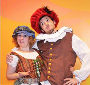 MET's The Fun Company Presents THE COMMEDIA PRINCESS AND THE PEA, Now thru 3/15