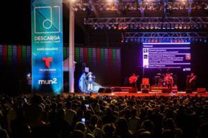 Over 6,000 Fans Attend DESCARGA CON TELEMUNDO Y mun2 Concert