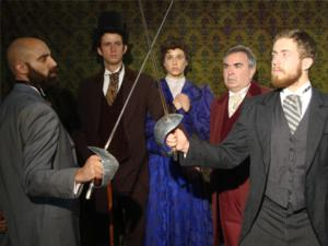 Rover Dramaworks to Close Season with SHERLOCK HOLMES AND THE CASE OF THE JERSEY LILY, 9/11-10/4