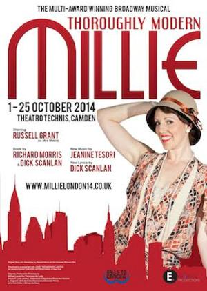 THOROUGHLY MODERN MILLIE Off West End Premiere Pushed to 2015