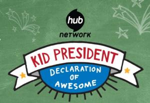 First Lady Michelle Obama to Appear on The Hub's KID PRESIDENT: DECLARATION OF AWESOME, 8/9