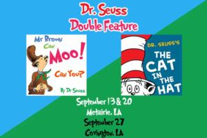 JPAS to Present DR SEUSS DOUBLE FEATURE, Begin. 9/13