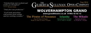 NY Gilbert & Sullivan Players to Sail Across the Pond for Harrogate's 2014 International G&S Festival, Aug 5-10