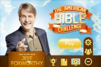 GSN's THE AMERICAN BIBLE CHALLENGE Comes to Social and Mobile Gamers