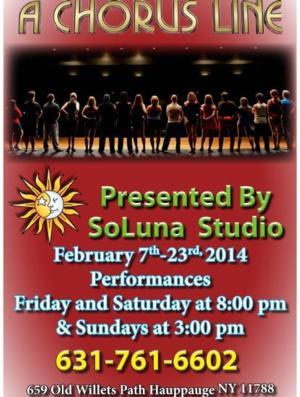 SoLuna Studio's A CHORUS LINES Opens Tomorrow