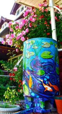 The Collinwood Painted Rain Barrel Project, 4/13