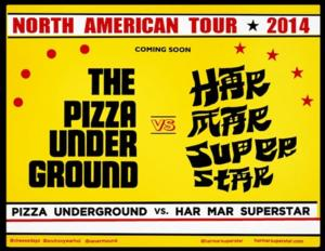 Har Mar Superstar to Tour North America with The Pizza Underground this Fall