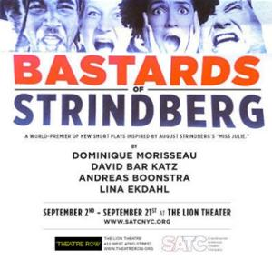 Dominique Morisseau, David Bar Katz and More to Star in SATC's BASTARDS OF STRINDBERG, 9/2-21