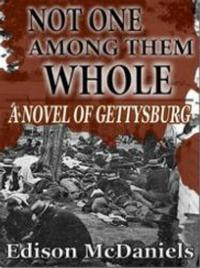 Edison McDaniels Releases Civil War Novel NOT ONE AMONG THEM WHOLE