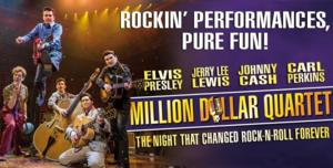 MILLION DOLLAR QUARTET Offers Free Tickets to Fans Dressed as Elvis on The King's Birthday Today