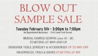 Kleinfeld's to Host a One-Day Bridal Sale