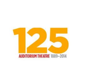 Auditorium Theatre's 125th Anniversary Gala Set for 12/14