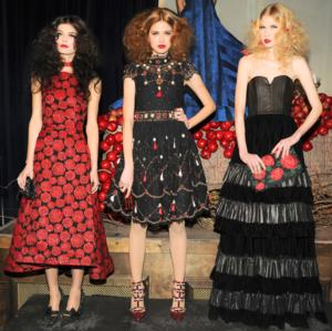 Alice + Olivia Present Fall 2014 Collection