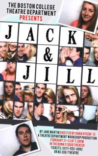 Boston College Theatre Department Stages JACK AND JILL, Now thru 2/23